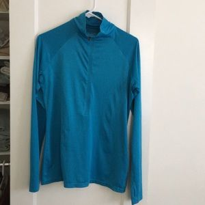 Columbia light weight half zip athletic top